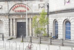 Alone at the Ambassador Cinema (Dublin)